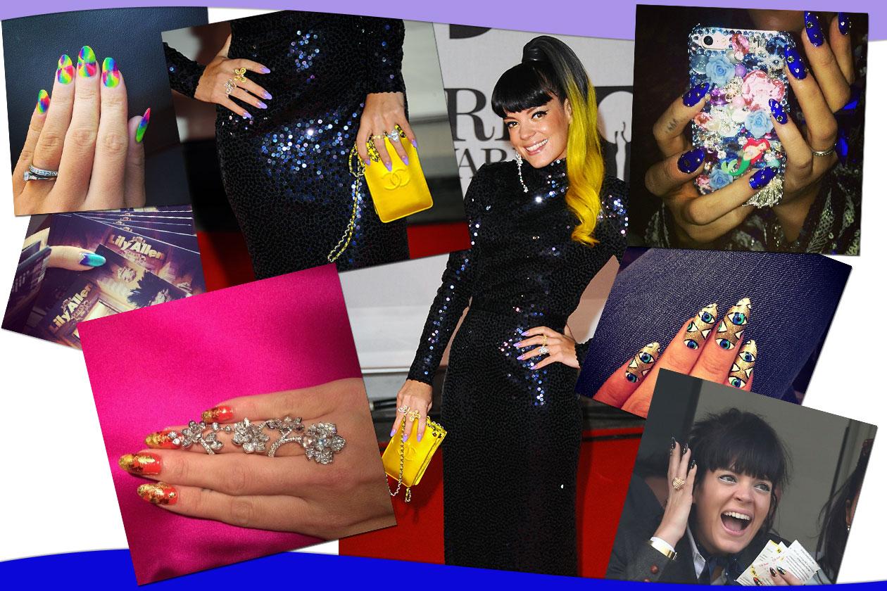 Lily Allen e la manicure: tutte le nail art più belle selezionate da Grazia.IT