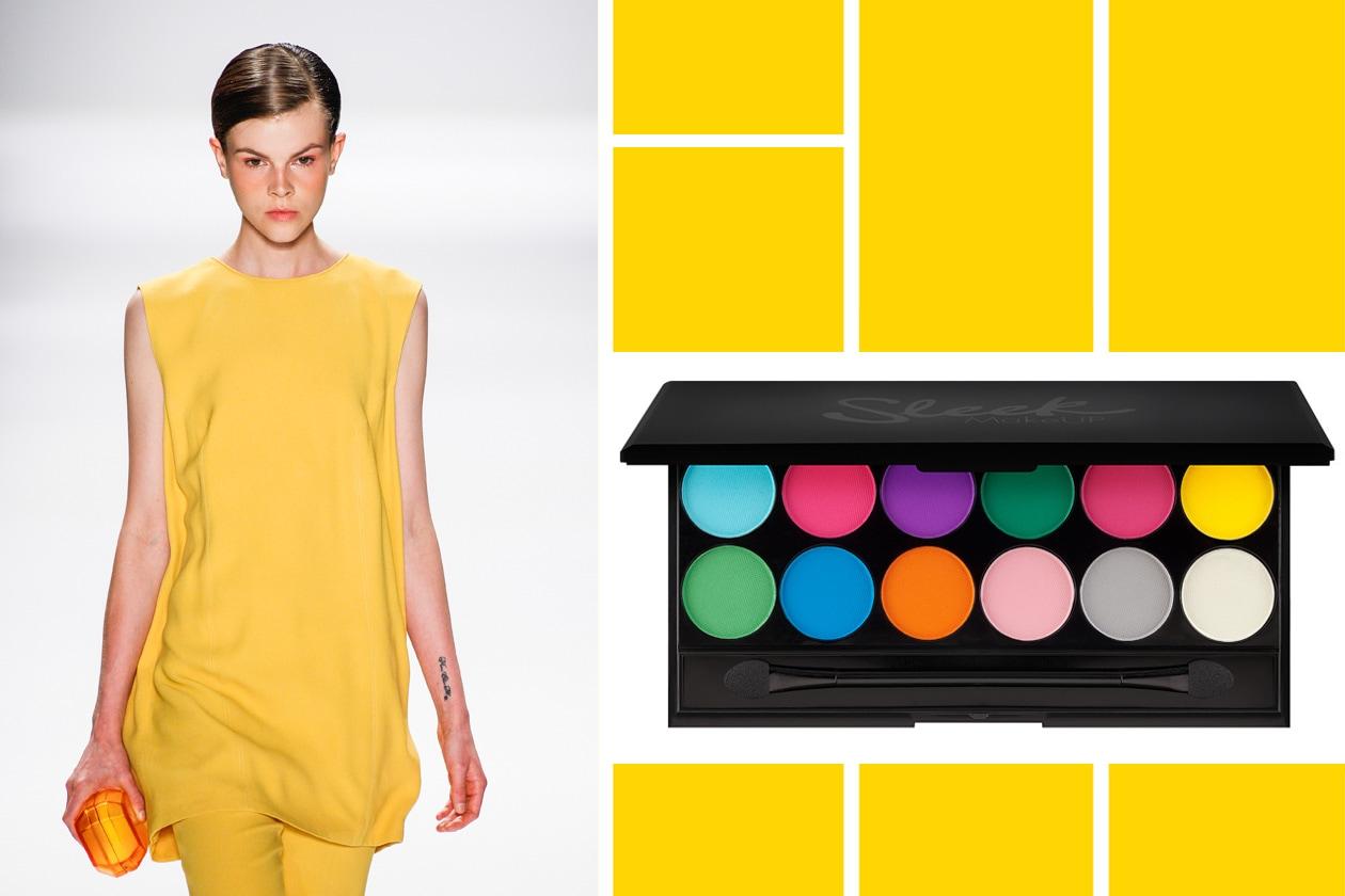 MULTICOLOR: accogliamo il primo caldo con un total look in fresia by Osklen e un make up giocoso con la palette di Sleek
