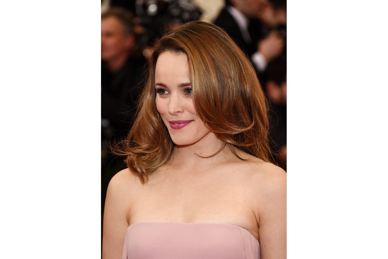 Make up sulle sfumature del rosa per Rachel McAdams