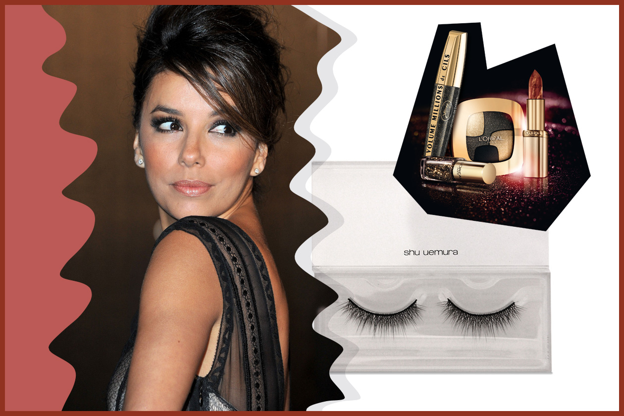 Massima eleganza con uno smokey eyes à la Eva Longoria (L'Oréal Paris e Shu Uemura)