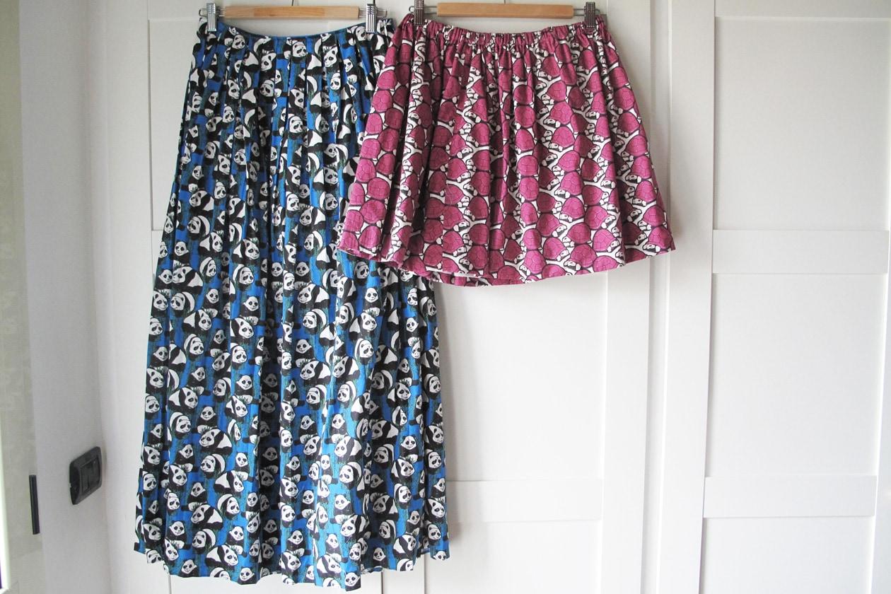 Maxi e mini skirt di Aujourlejour