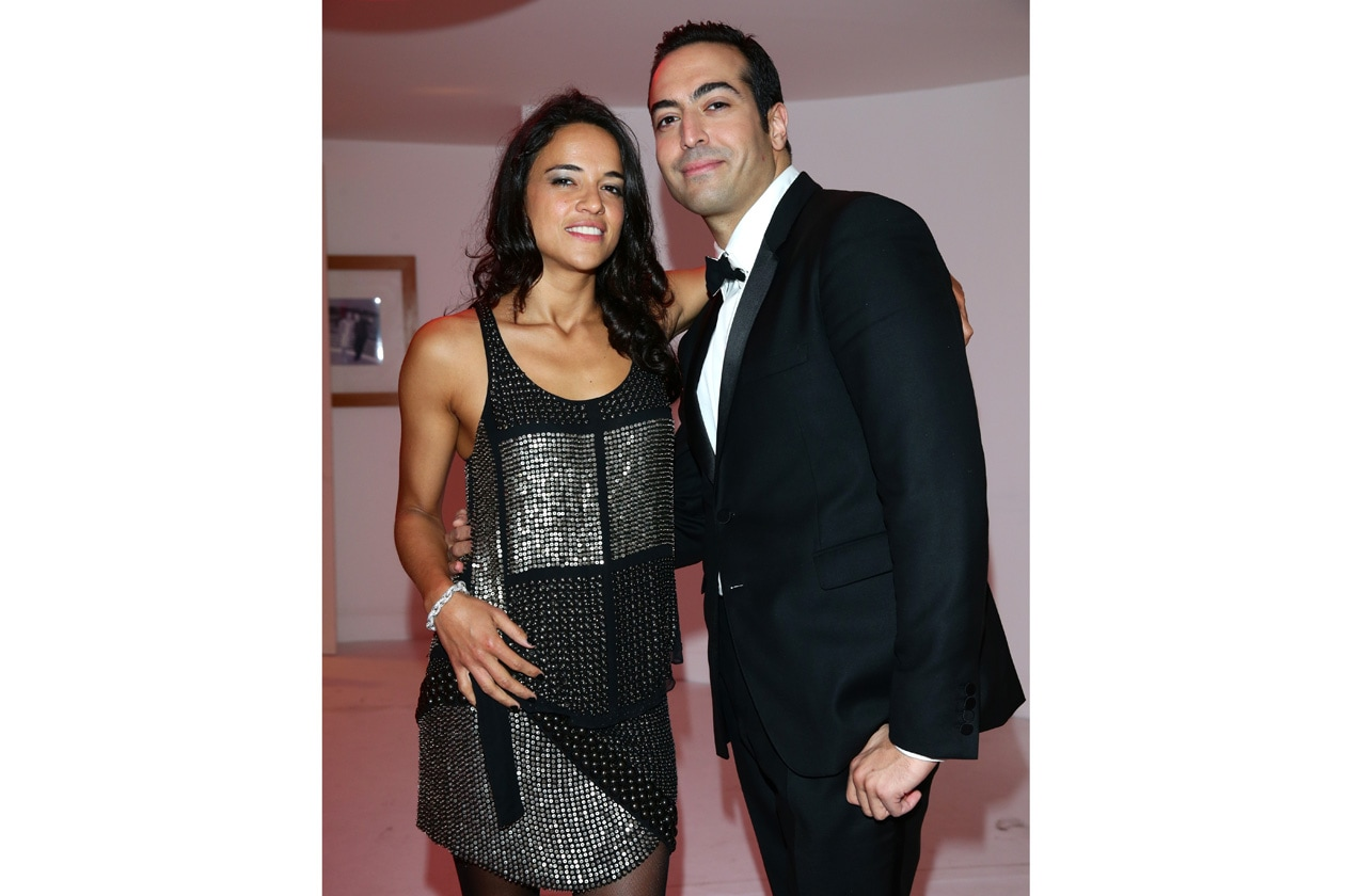 Michelle Rodriguez, Mohammed Al Turki