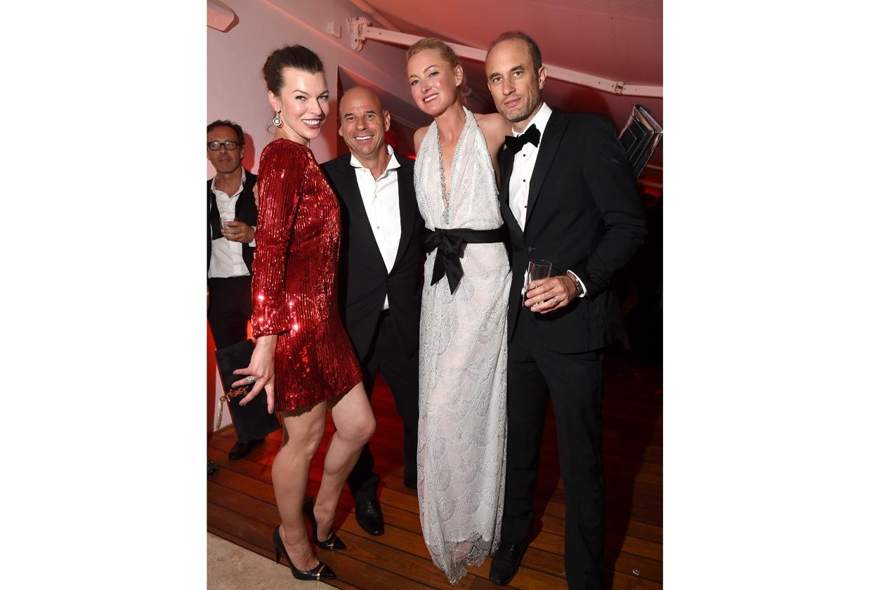 Milla Jovovich, guest, Princess Lilly zu Sayn Wittgenstein Berleburg, guest