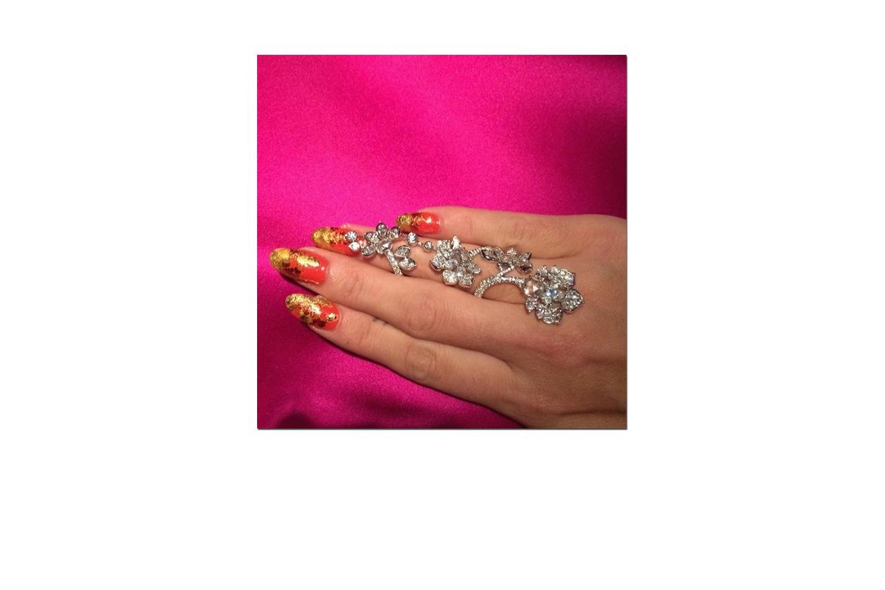 Orange&Gold: unghie dagli accenti orientali