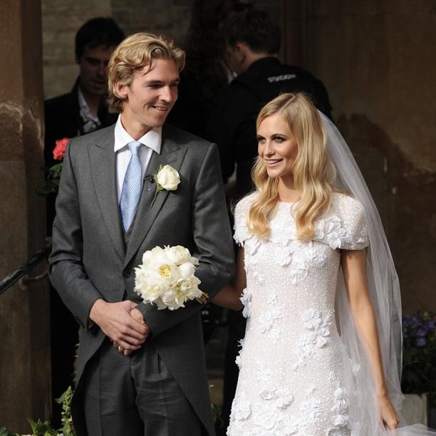 Poppy Delevingne sposa in Chanel