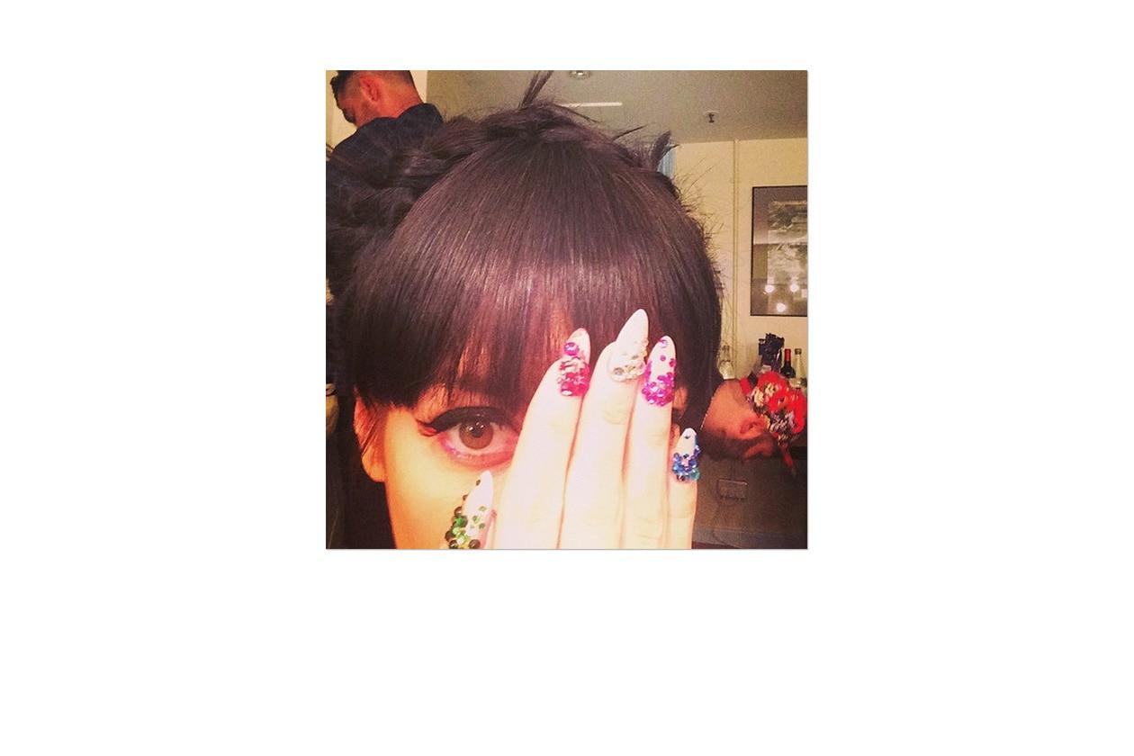 Selfie dal backstage della Royal Albert Hall