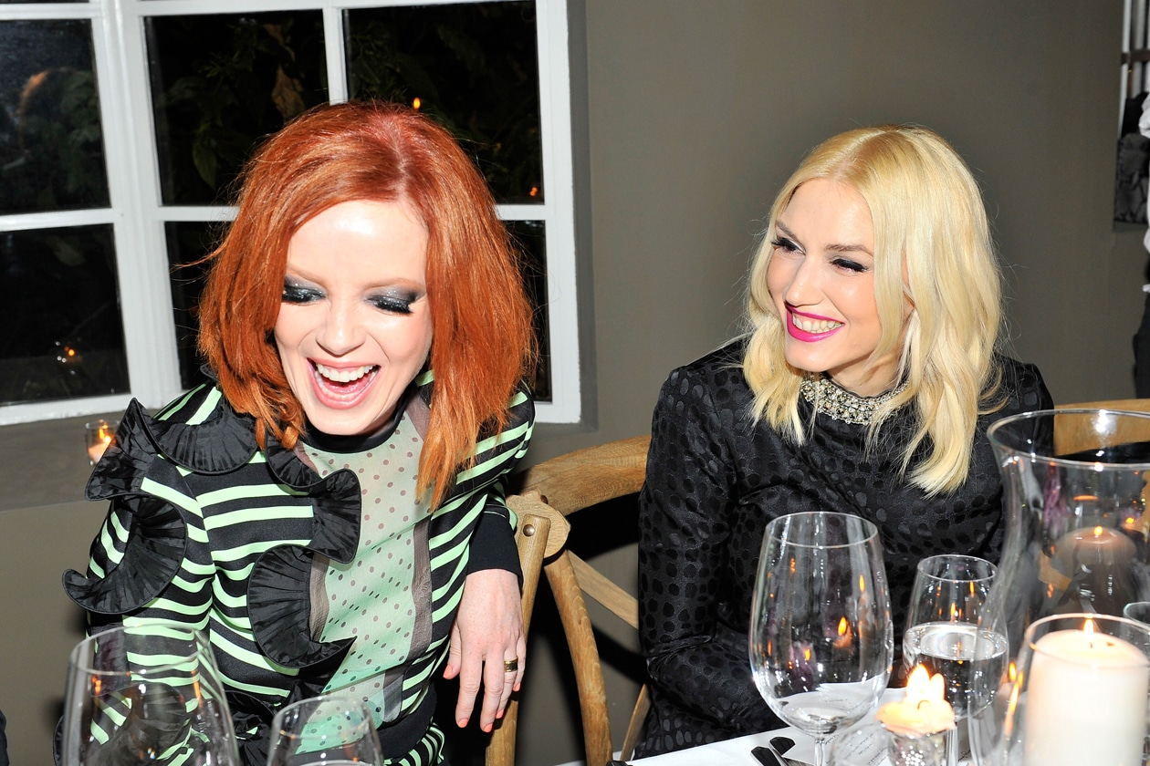 Shirley Manson Gwen Stefani
