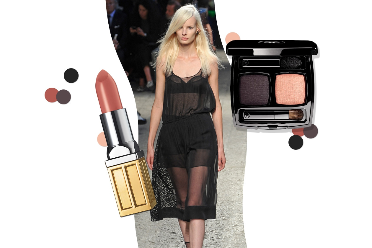TRASPARENZE IPERFEMMINILI: il dark che osa. Make up effetto nude (No.21 – Chanel -Elisabeth Arden)