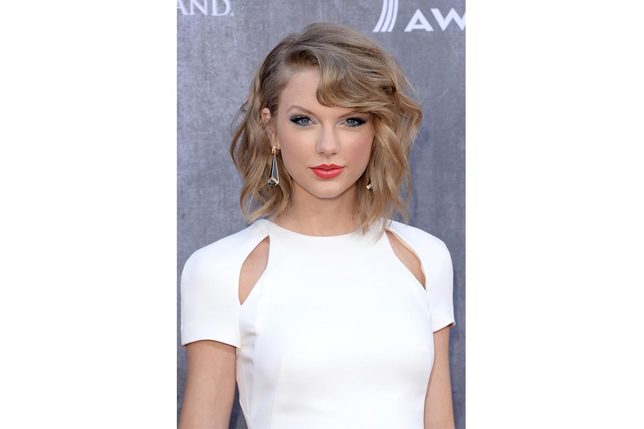 Taylor Swift: le lunghezze sono super mosse, irregolari, lavorate per creare volume