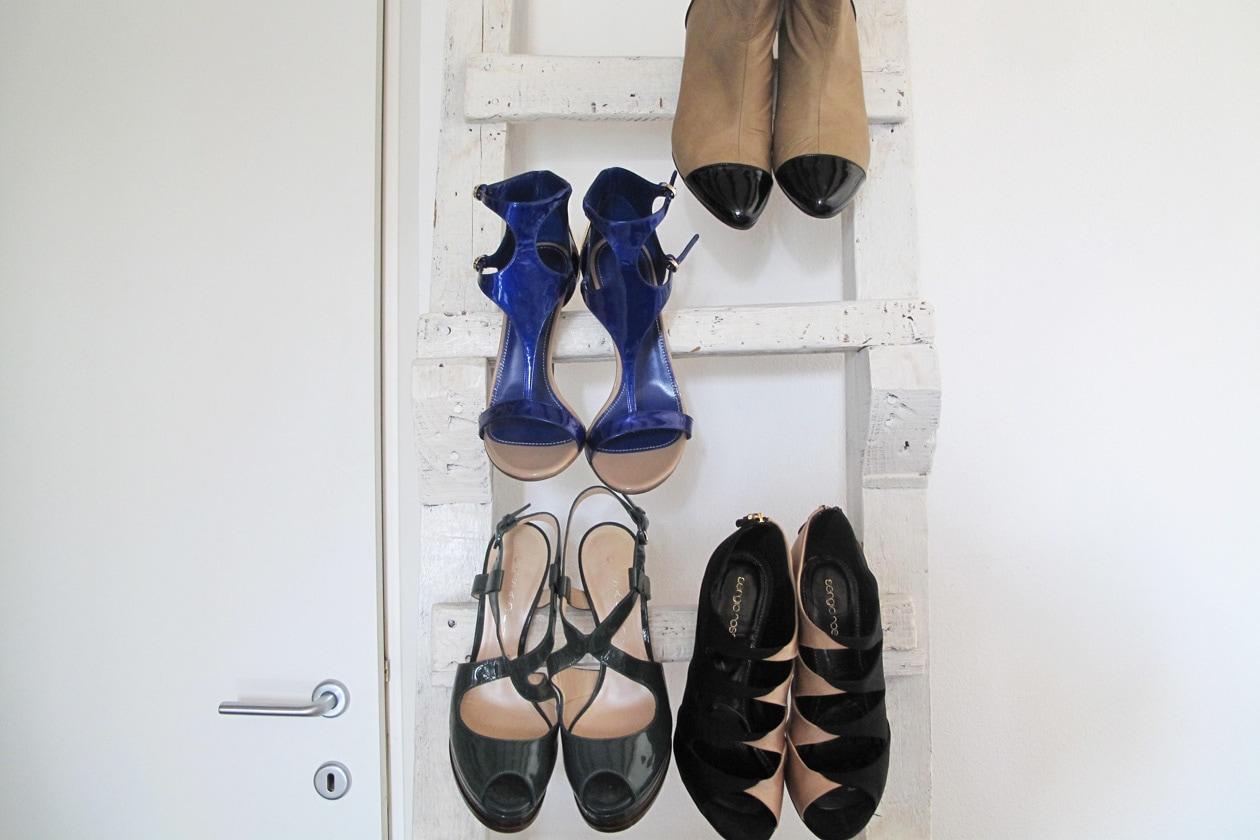 Una parata di scarpe