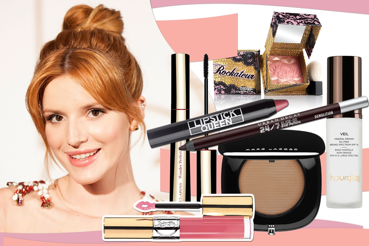 BEAUTY Bella Thorne Make up 00 cover collage