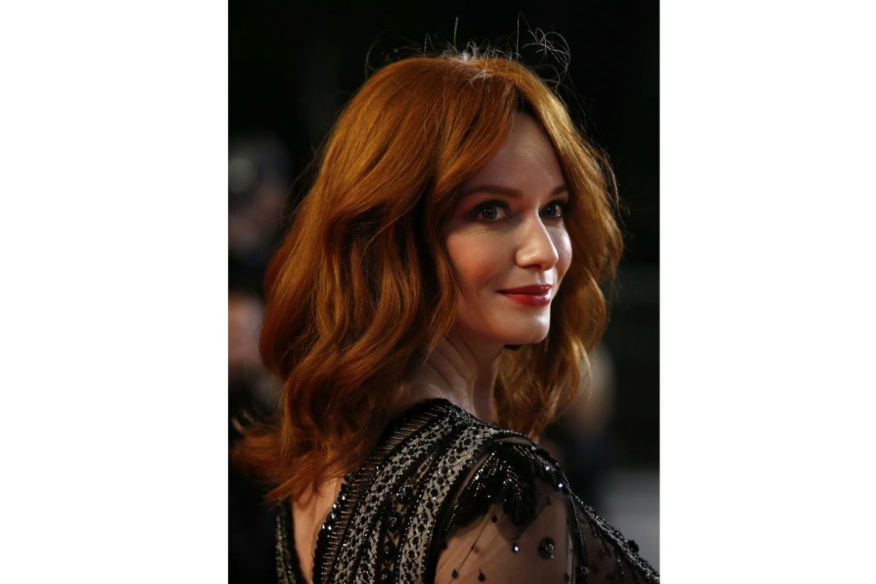 Hairdo simile per Christina Hendricks