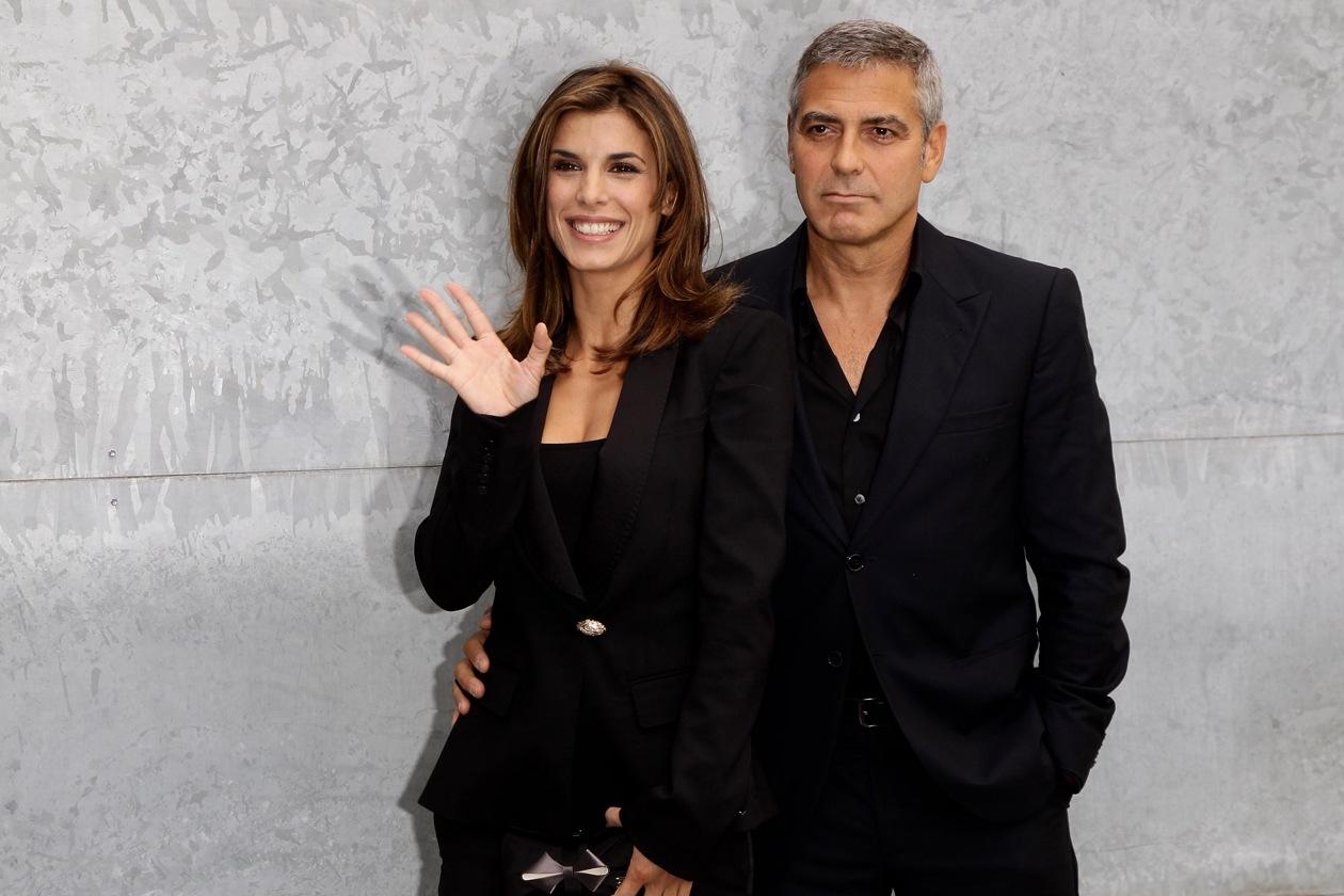 Una bella risposta alla notizia delle nozze di George Clooney, al quale la showgirl fa i suoi migliori auguri