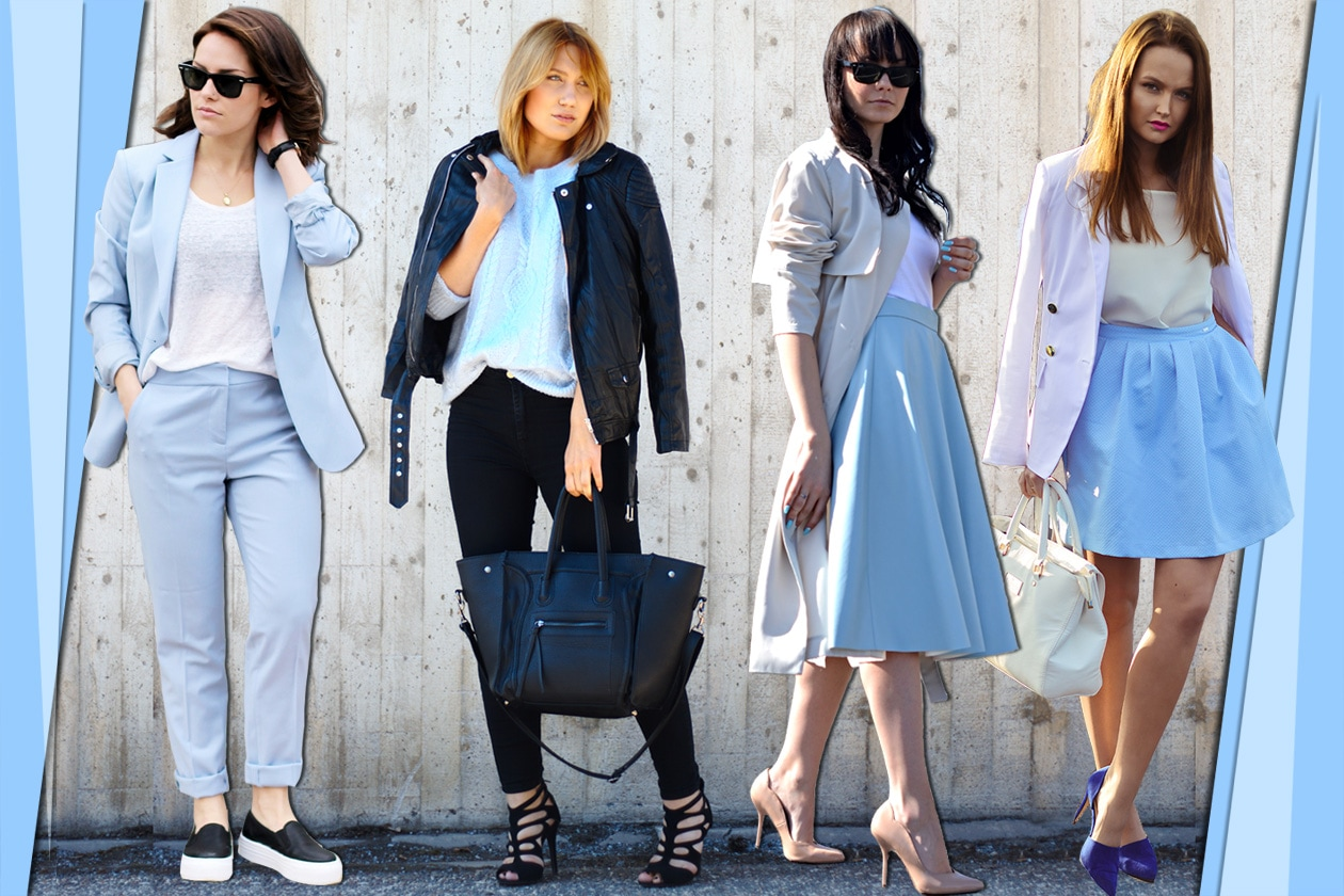 Bloggers trend: baby blue