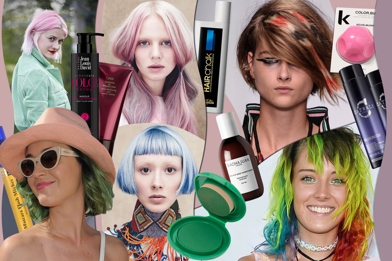 Capelli colorati: sfumature arcobaleno per chiome da star come Katy Perry e Nicole Richie