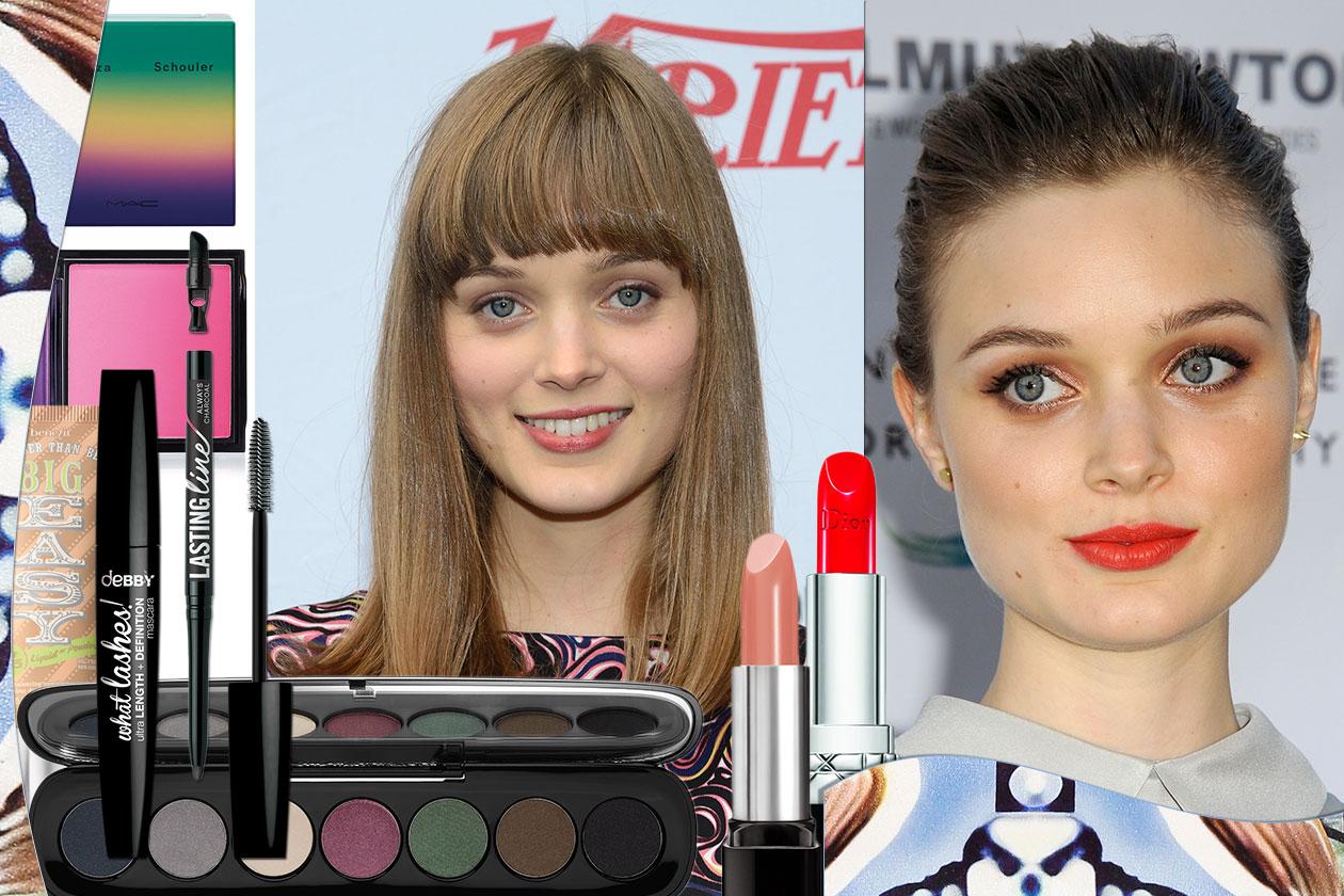 Bella Heathcote: i beauty look migliori con eyeliner e smokey eyes