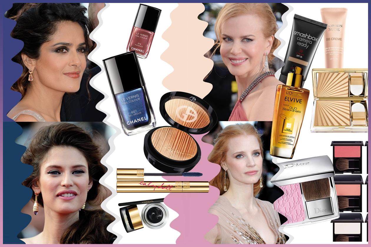 Make up da red carpet: da Kim Kardashian a Bianca Balti i trucchi per apparire radiose