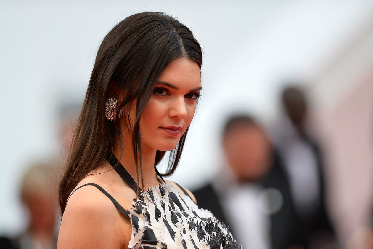KAJAL FEVER: Focus on eyes per Kendall Jenner