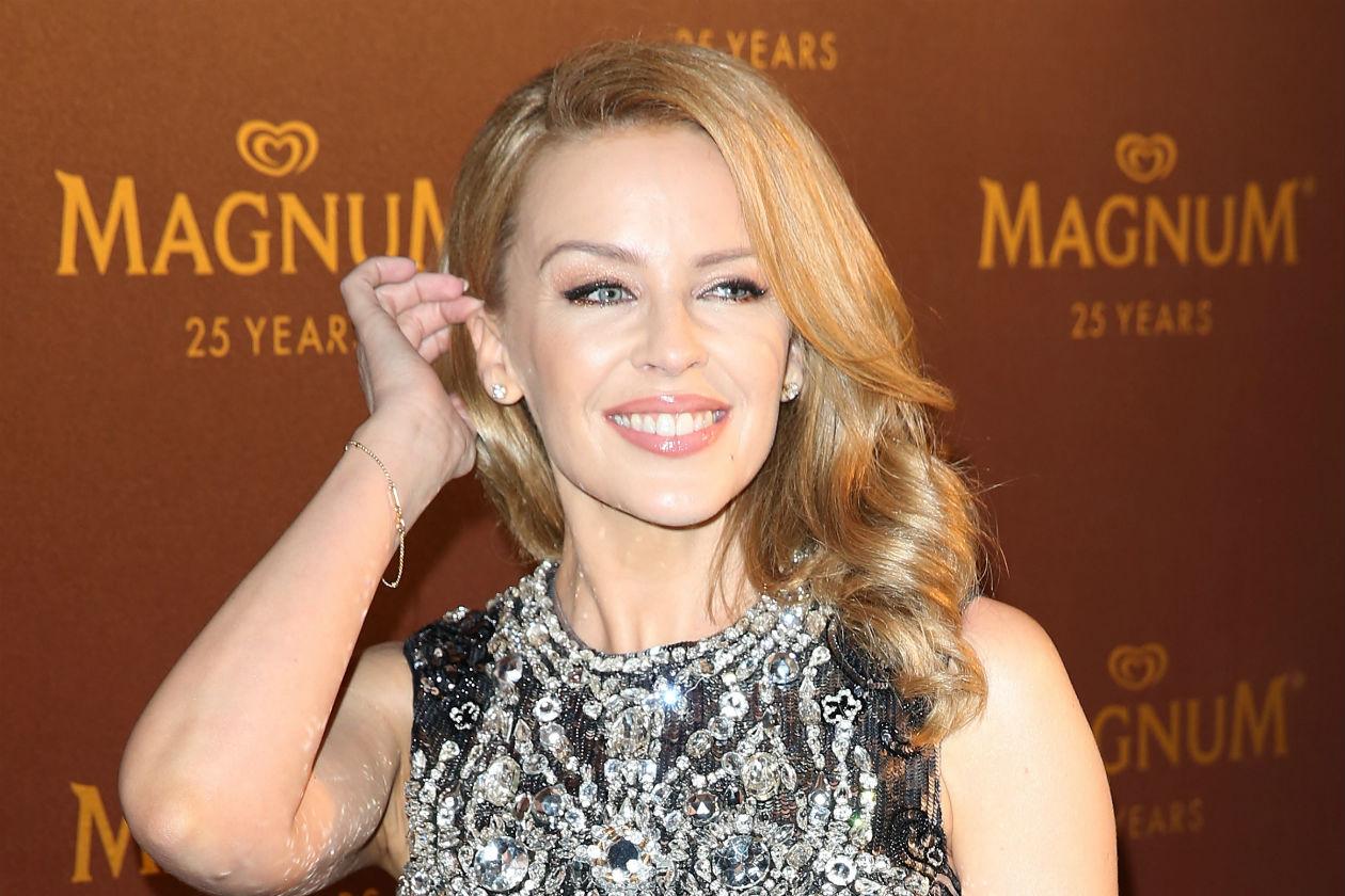 Occhi da cerbiatta per Kylie Minogue