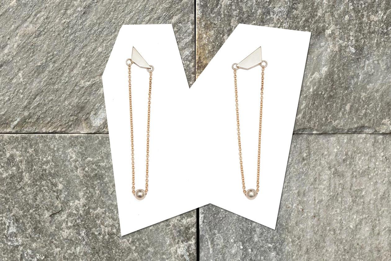 Bunny Hill Chain earrings