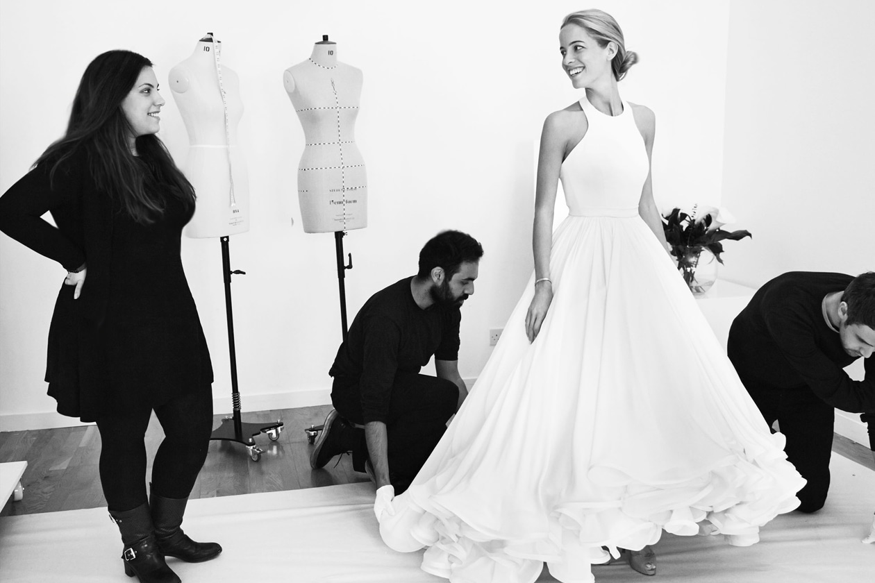MARY KATRANTZOU'S FIRST WEDDING DRESS 3