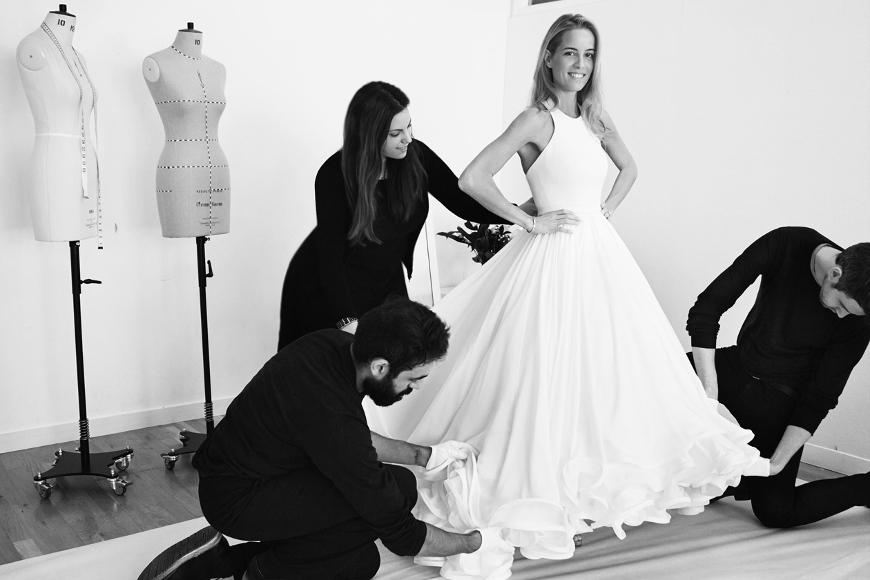 MARY KATRANTZOU'S FIRST WEDDING DRESS 5