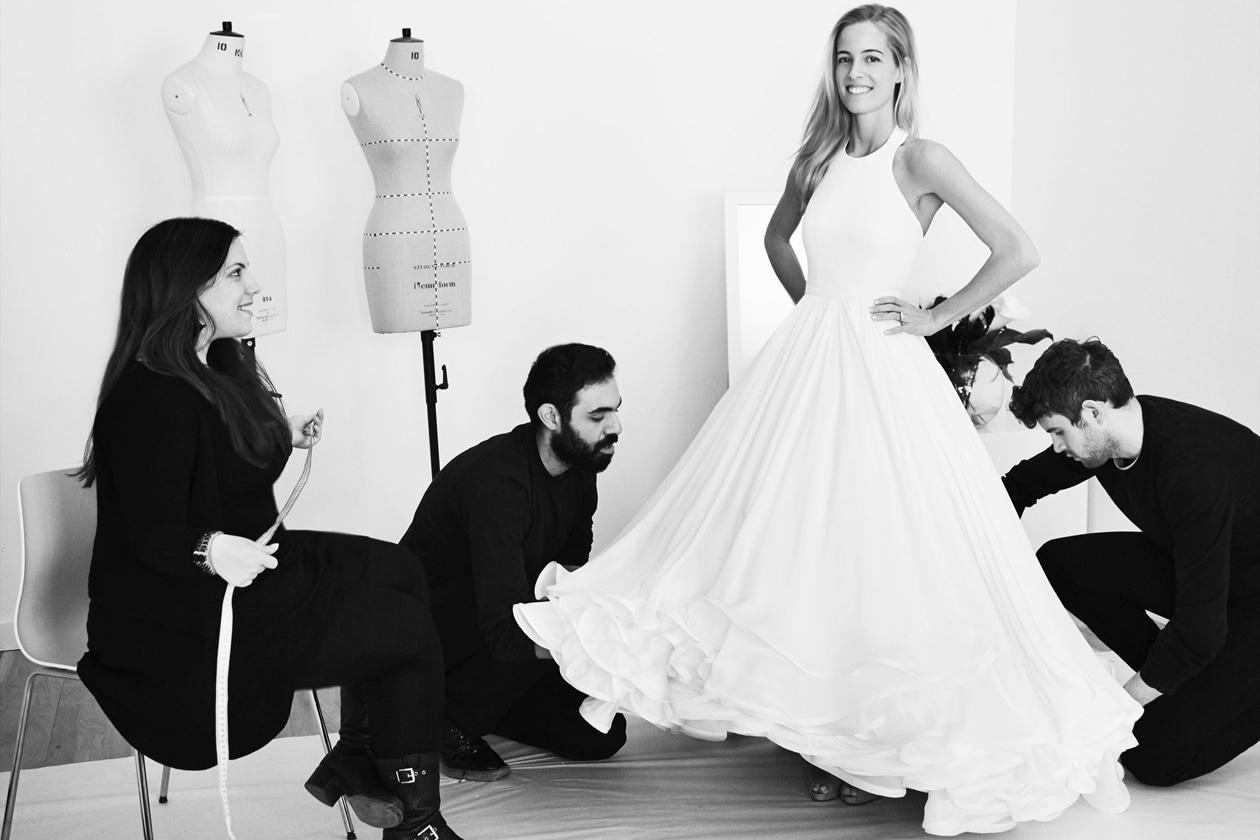 MARY KATRANTZOU'S FIRST WEDDING DRESS 2