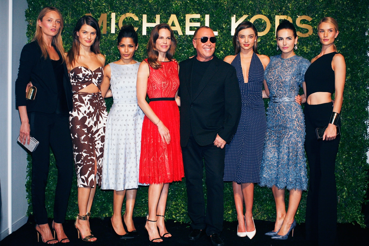 Michael Kors sfila a Shanghai con la collezione Jet Set