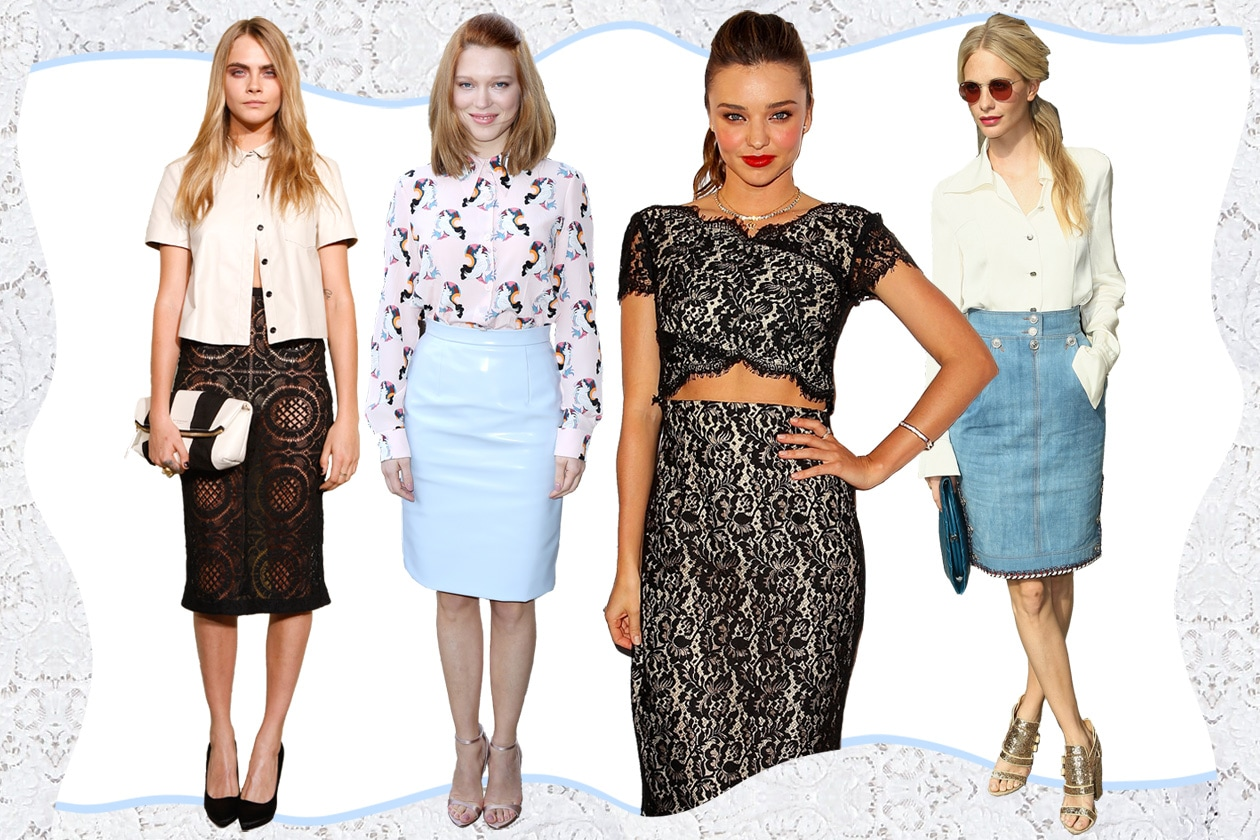 COVER pencil skirt