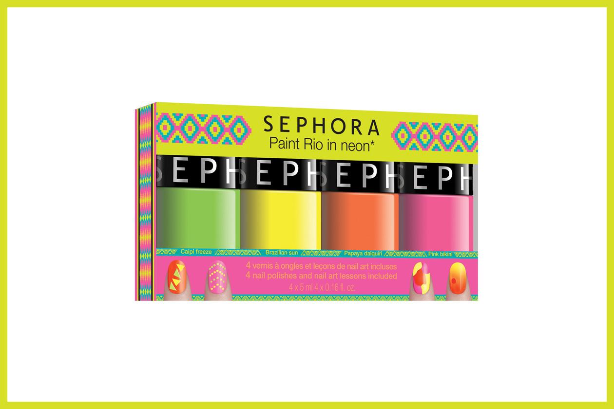 09 Sephora   Diva Carioca  Paint Rio In Neon Kit LD