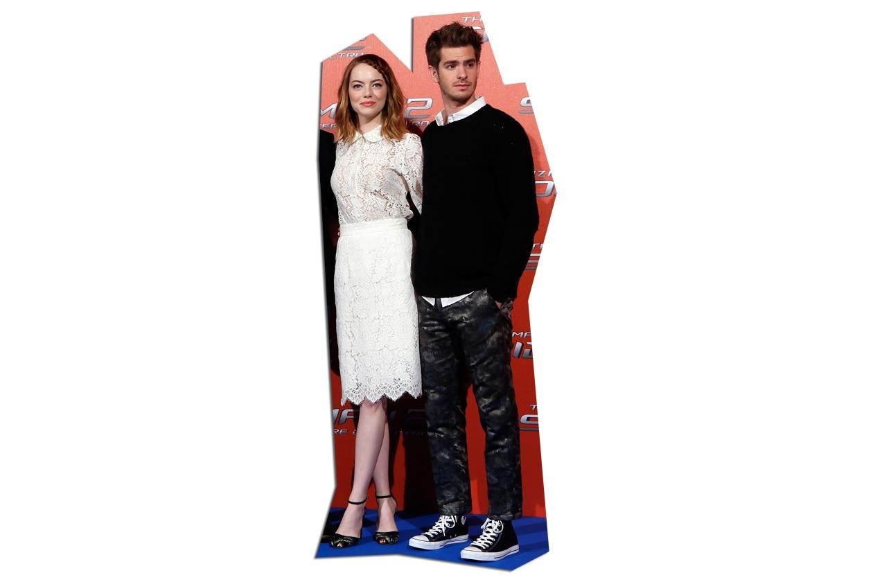 2 Emma Stone in Dolce&Gabbana alla prima italiana di Spiderman2