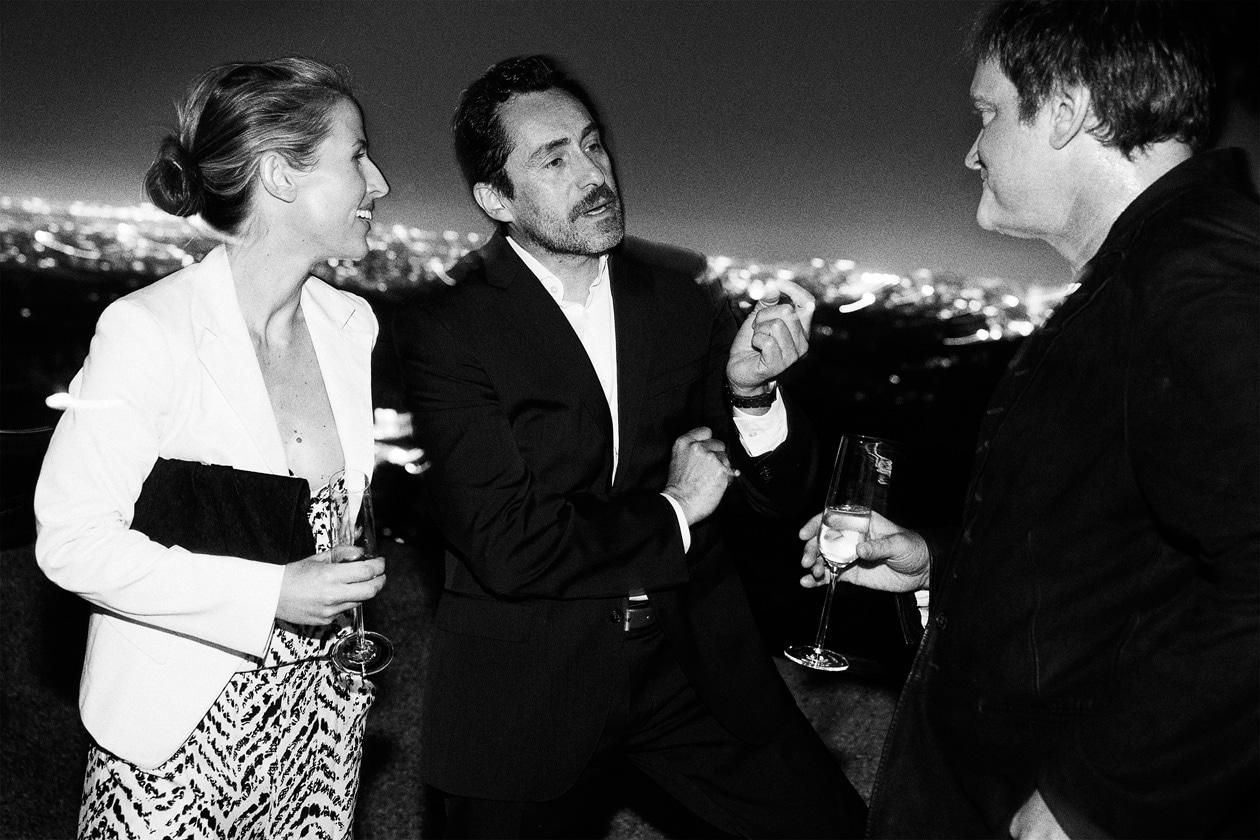 A16 Stefanie Sherk, Demian Bichir and Quentin Tarantino
