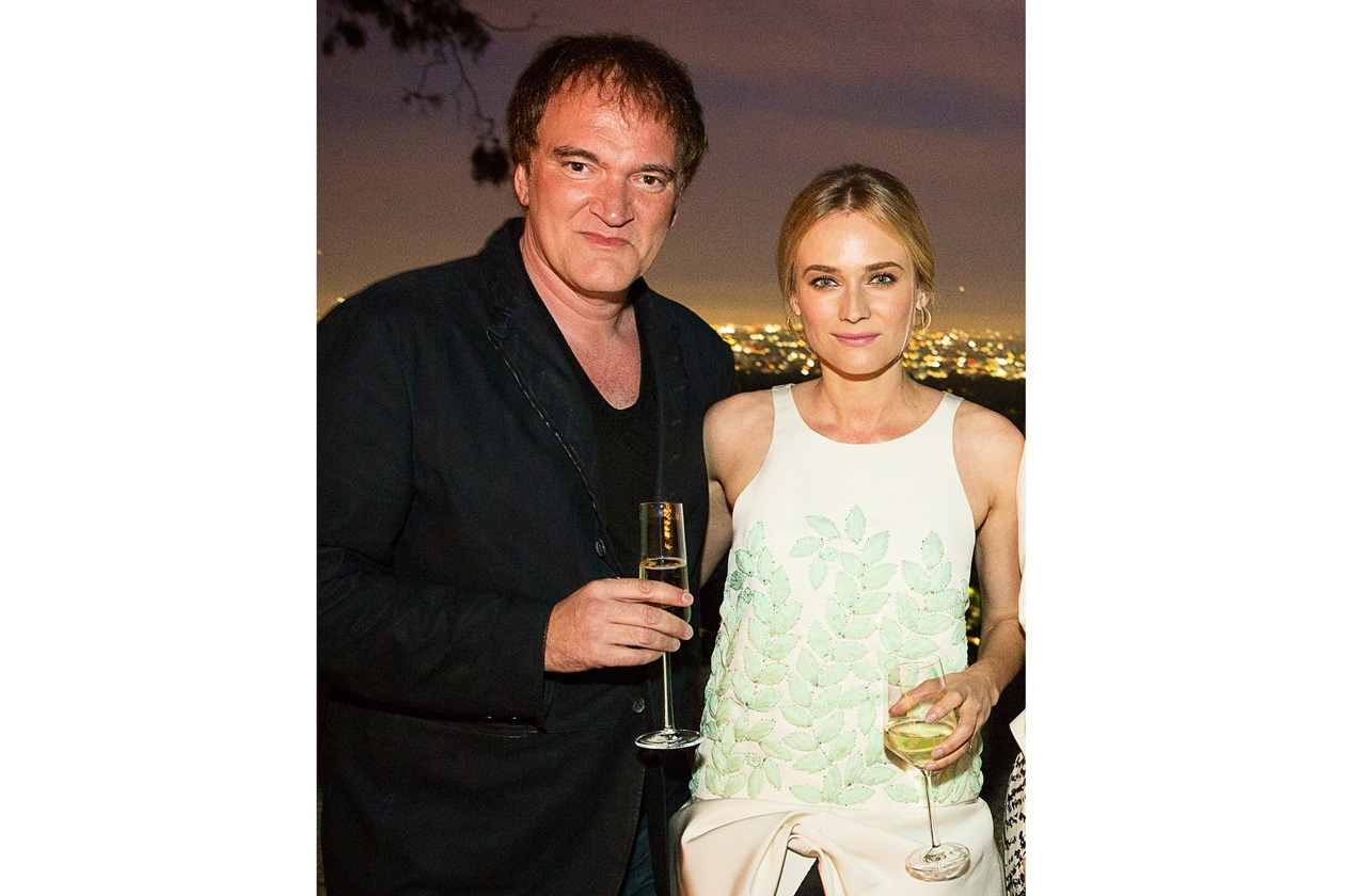 A3 Quentin Tarantino and Diane Kruger