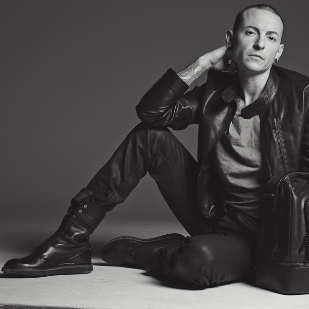 Appuntamento da Porsche Design con il frontman dei Linkin Park
