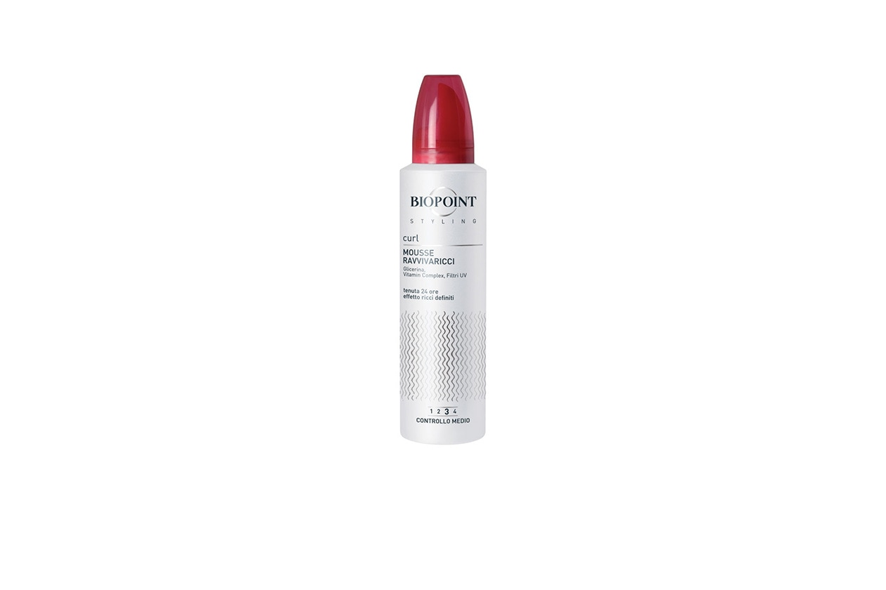 BEAUTY Abbie Cornish Biopoint Styling Mousse Ravvivaricci