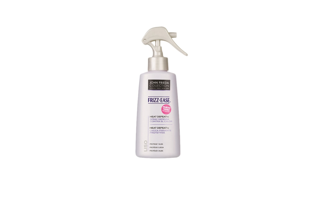 BEAUTY Abbie Cornish John Frieda Frizz Ease Heat Defeat Styling Spray Protettivo