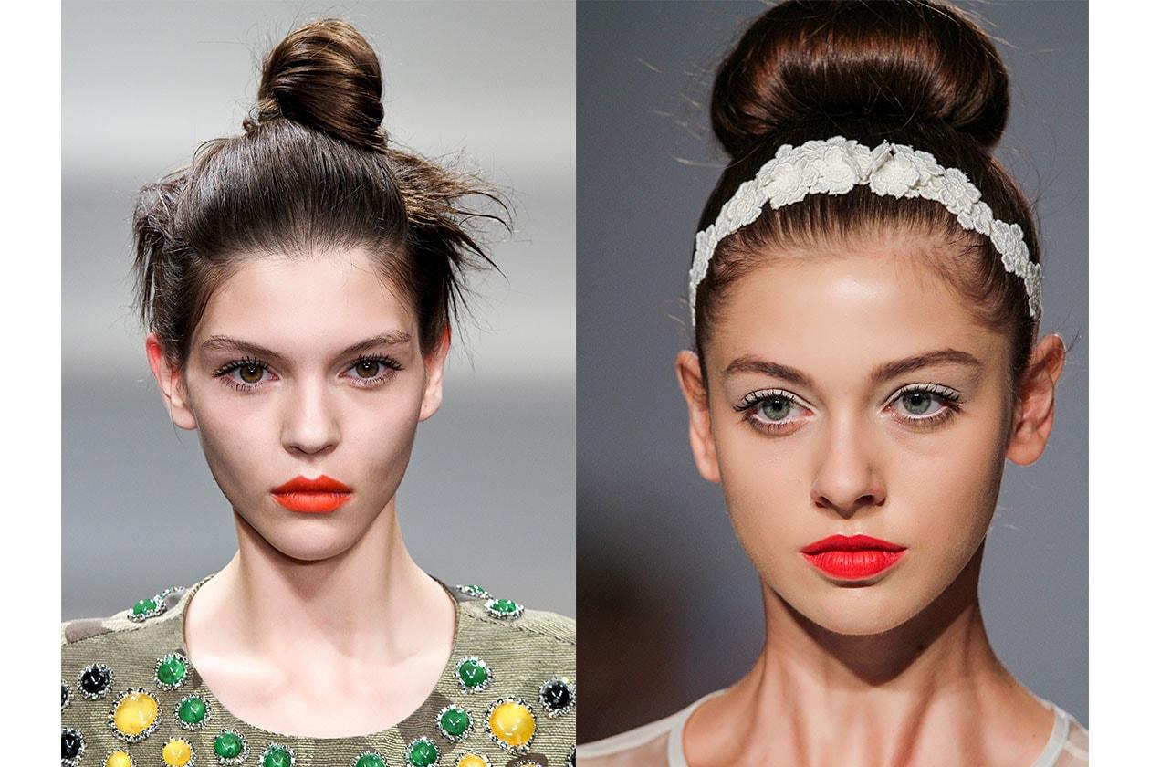 BEAUTY Trend capelli SS2014 Chignon