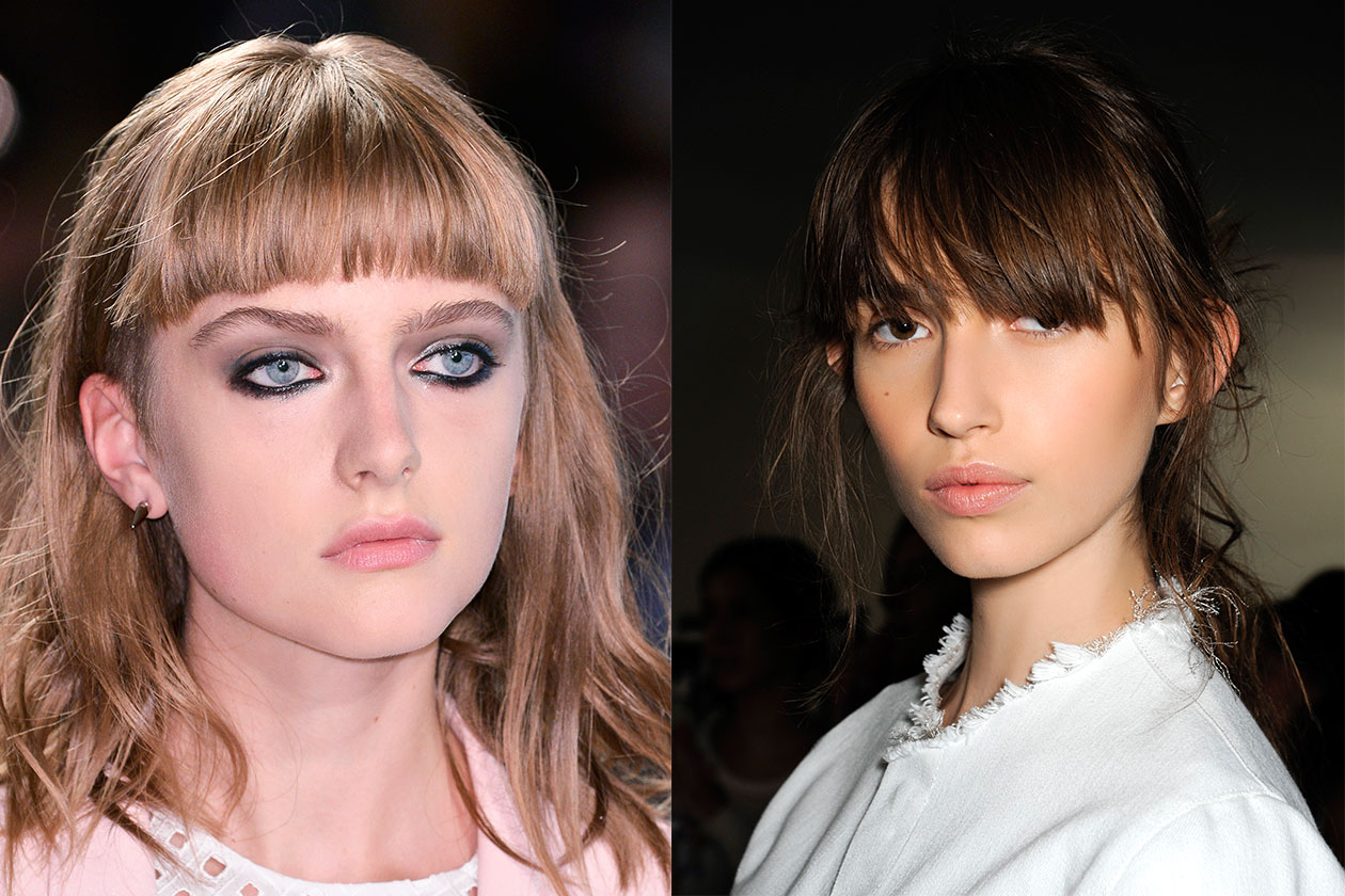 BEAUTY Trend capelli SS2014 Frangia 1