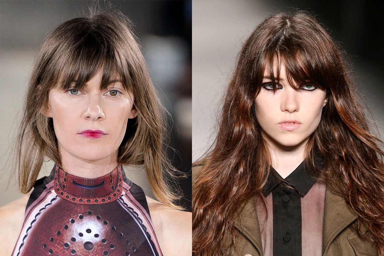 BEAUTY Trend capelli SS2014 Frangia 2