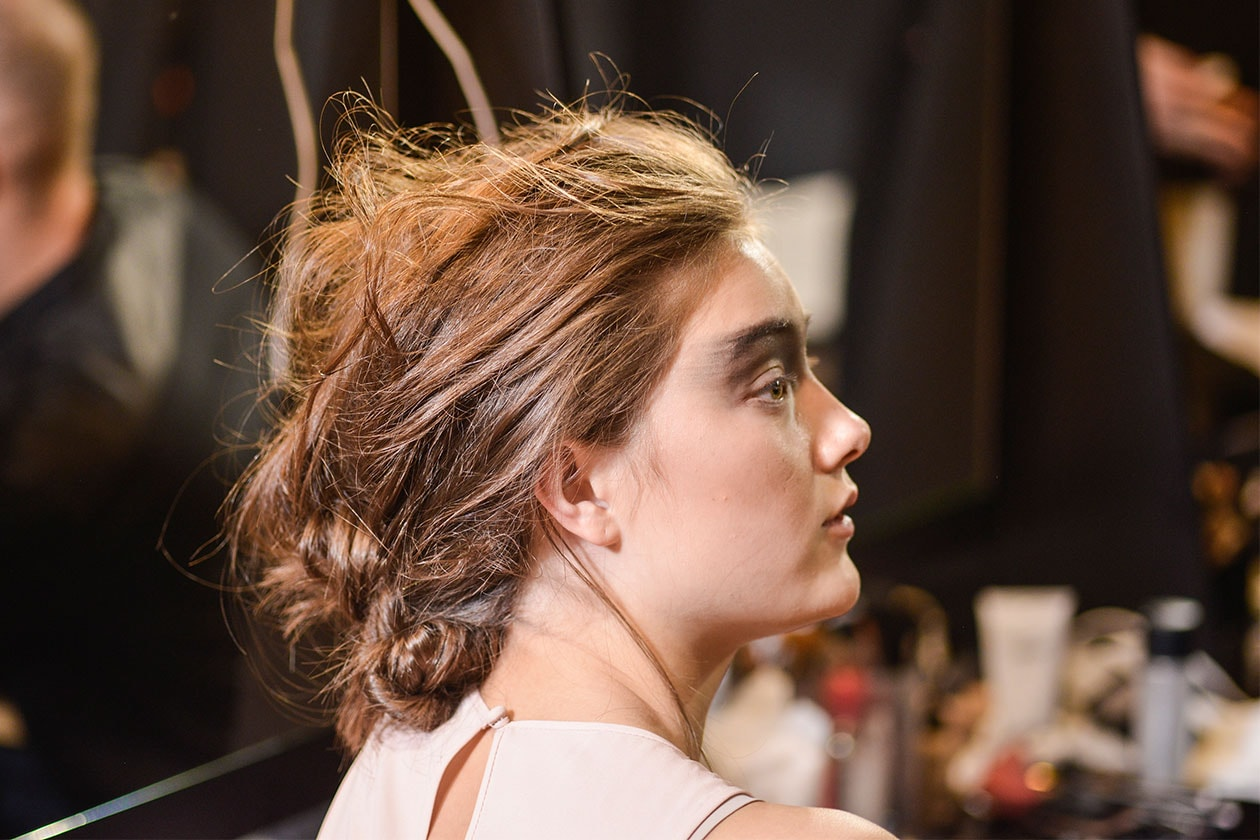 BEAUTY Trend capelli SS2014 Gabriele Colangelo raccolto