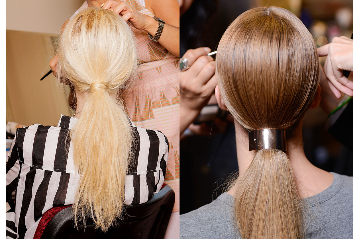 BEAUTY Trend capelli SS2014 Ponytail 1