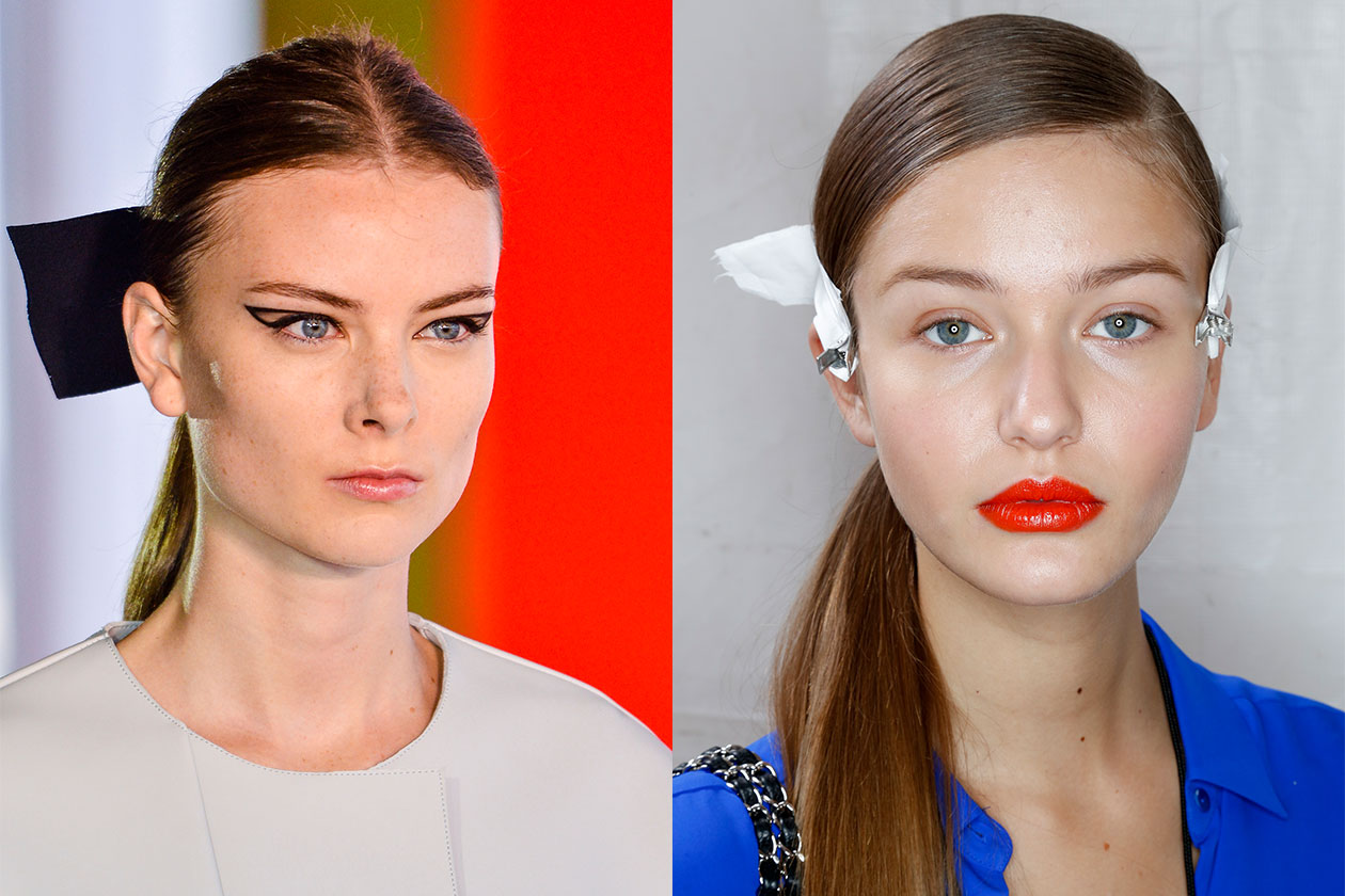 BEAUTY Trend capelli SS2014 Ponytail 2