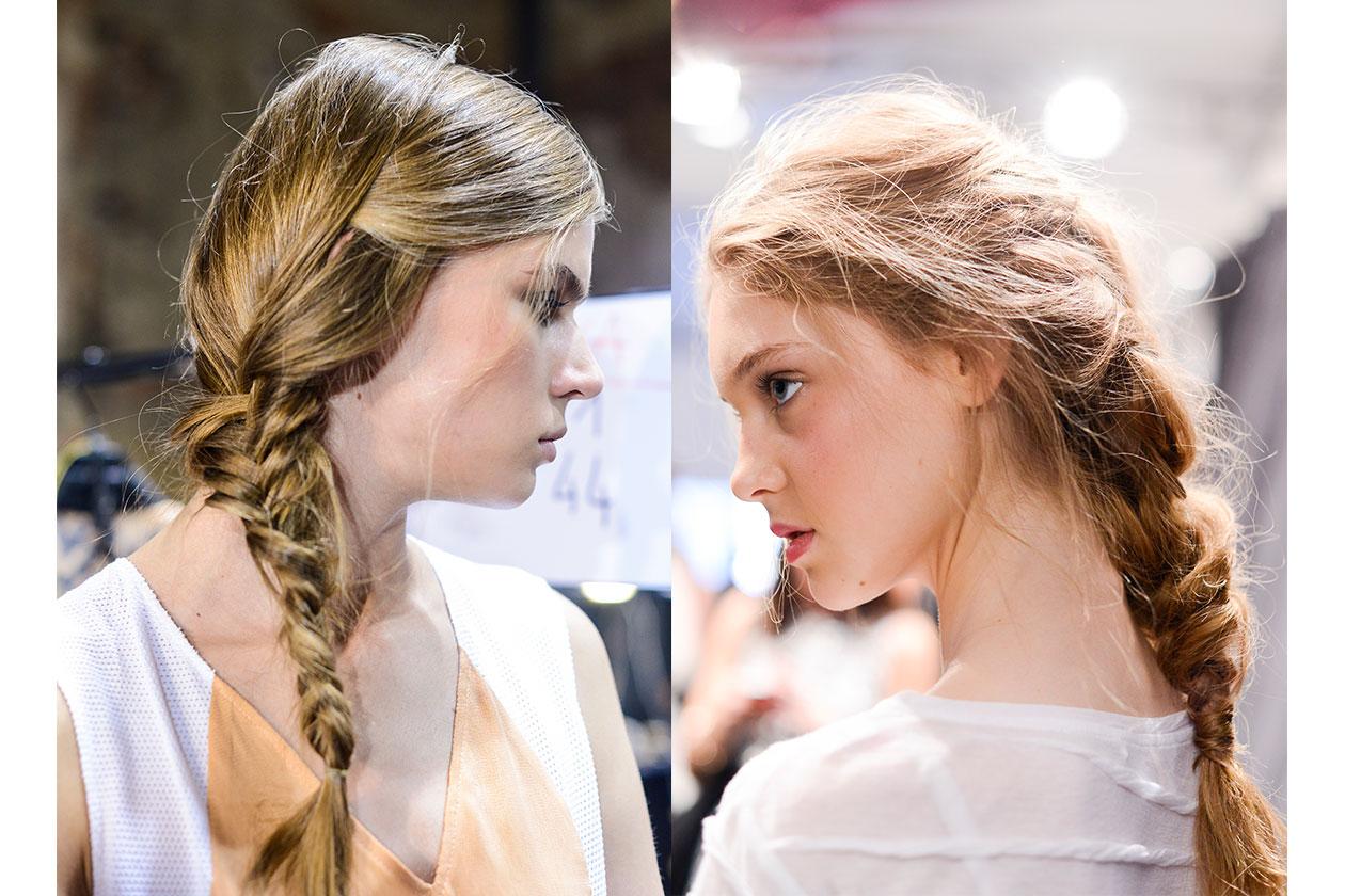 BEAUTY Trend capelli SS2014 Treccia 6