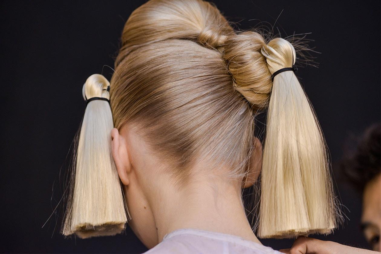 BEAUTY Trend capelli SS2014 Tsumori Chisato raccolto