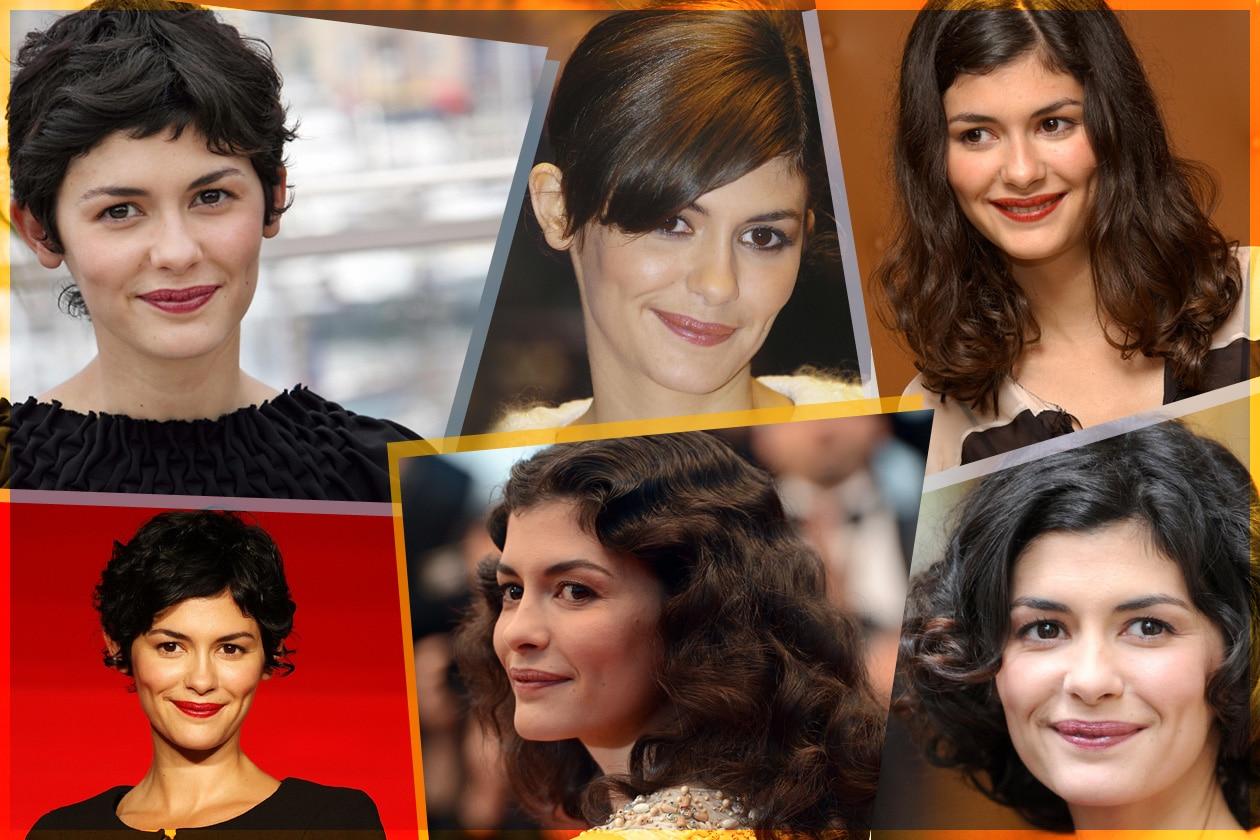 Discrezione e mood vintage: gli hair look più belli dell'attrice Audrey Tautou scelti da Grazia.IT