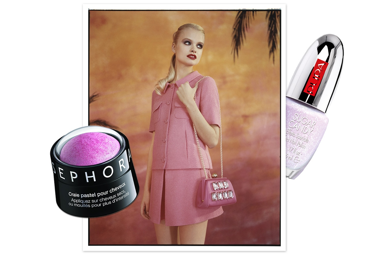 IN THE MOOD FOR VIOLET: Candy girl (Moschino Cheap & Chic – Pupa – Sephora)