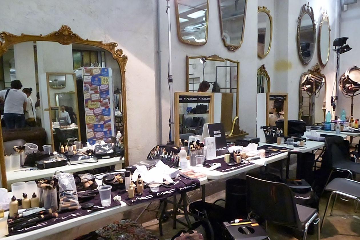 L'angolo dedicato al make up