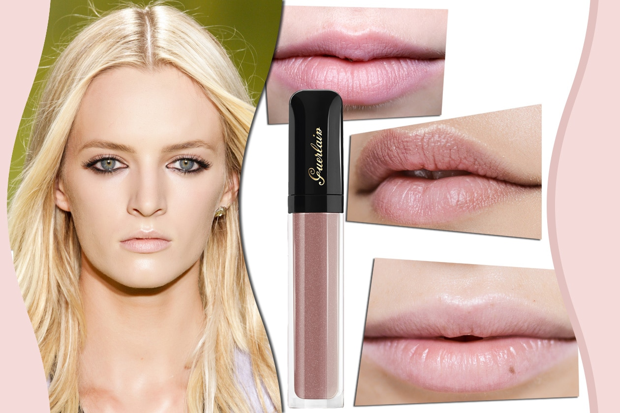 LABBRA PALE PINK: rosa pallido quando il mood è bon ton e girly. Prodotto consigliato: Gloss D'Enfer 463 La Petite Robe Noire di Guerlain