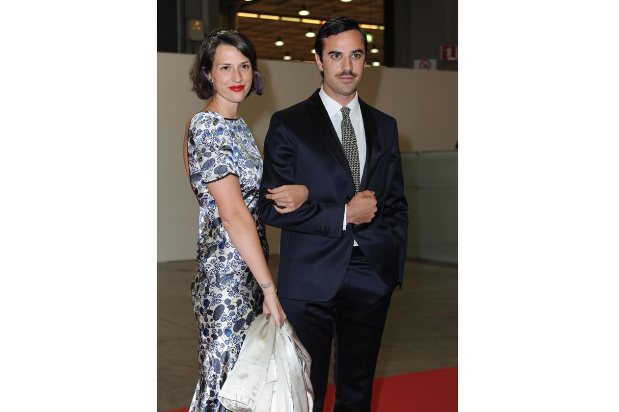 Madina Visconti di Modrone e Guido Taroni @ FENDI CONVIVIO