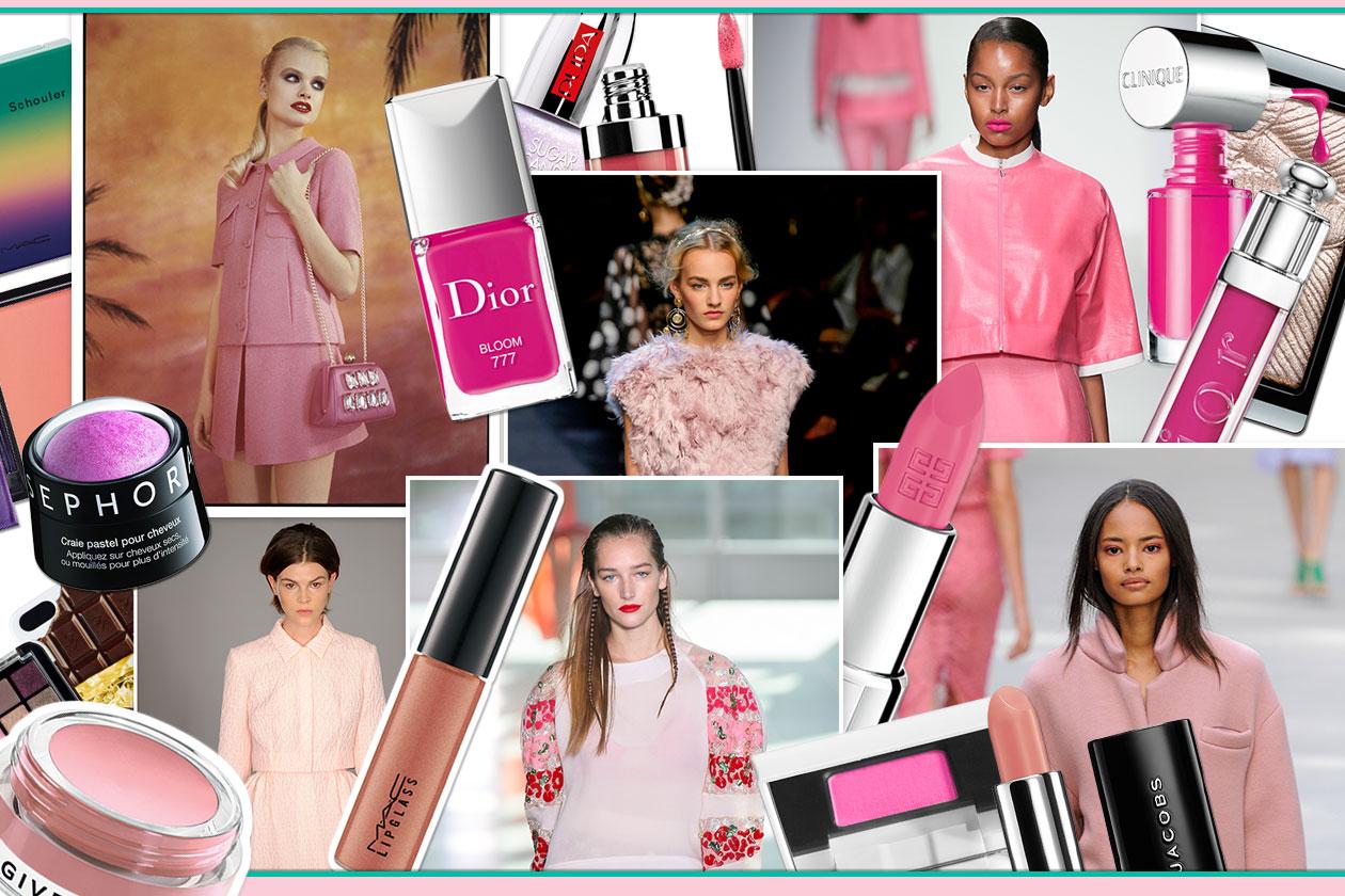 Make up candy: colori pastello, texture zuccherine e nuance primaverili per abbinamenti beauty&fashion. Guardate la selezione di Grazia.IT